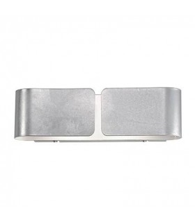 Ideal Lux - Clip Large Silver Wall Light IDL088273