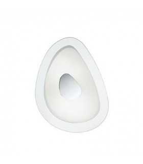 2 Light Small Ceiling Flush Light Glass