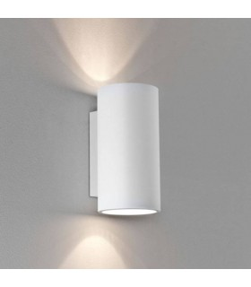 2 Light GU10 Wall Light Plaster 24cm