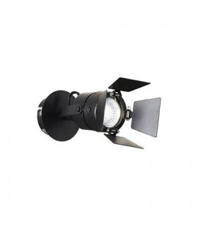 1 Light Indoor Flush Light Black