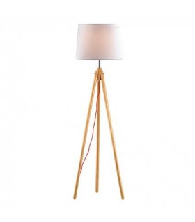 York Wood Floor Lamp - Ideal Lux 89805
