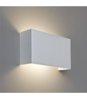 1 Light Up & Down Wall Light Plaster