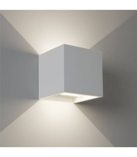 LED 2 Light Indoor Wall Light Plaster
