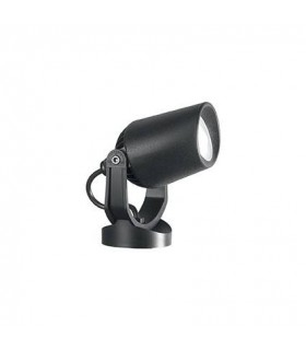 1 Light Outdoor Spike Spotlight Black IP66