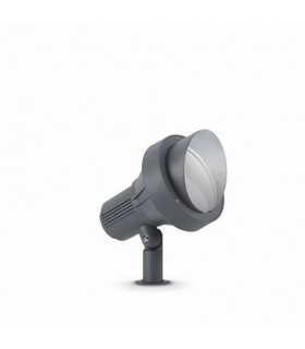 1 Light Large Outdoor Spiked Ground Light Anthracite IP65, E27