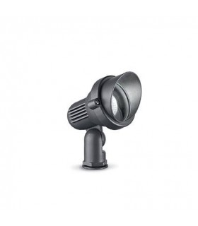 1 Light Small Outdoor Spiked Ground Light Anthracite IP65