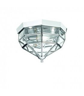 Ideal Lux - Norma Chrome Wall/Ceiling Light IDL094793
