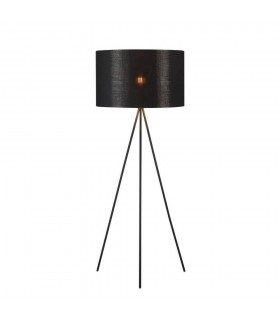 1 Light Tripod Floor Stand, Matt Black (SHADE SOLD SEPARATELY), E27