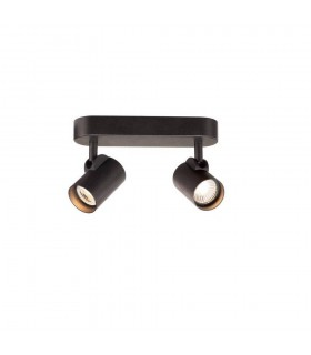 LED Wall And Ceiling Light, 3000K, 35d, Black