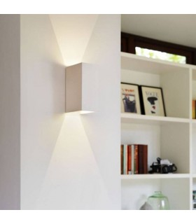LED 2 Light Indoor Up / Down Wall Light Plaster
