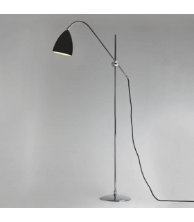 1 Light Floor Lamp Black