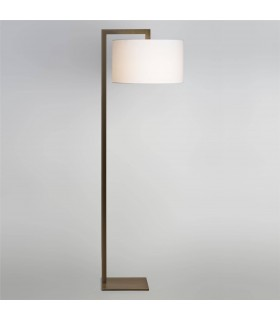 1 Light Floor Lamp Bronze - Shade Not Included