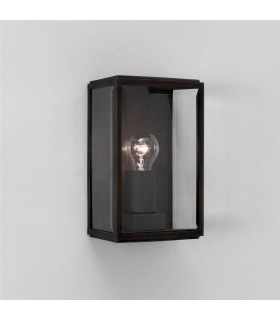HOMEFIELD SQUARE OUTDOOR WALL LIGHT - BLACK - ASTRO 0483