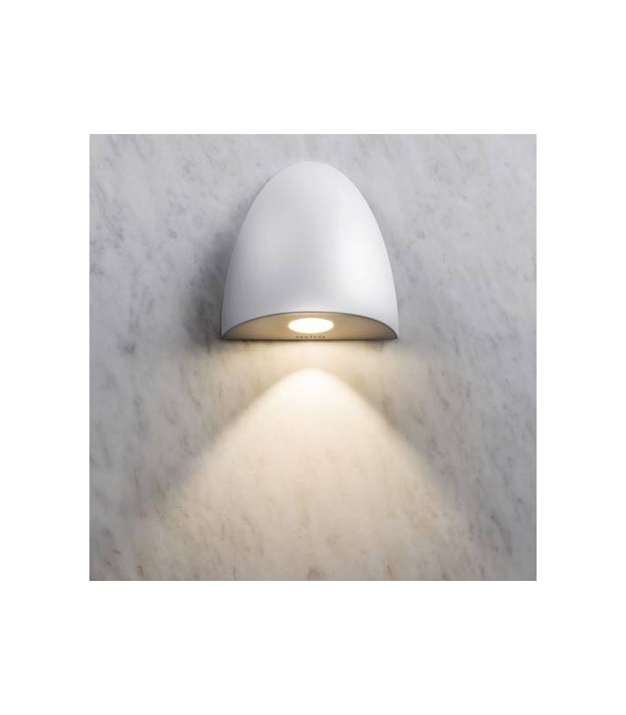 Orpheus white recessed led wall light astro lighting 7370 aloadofball Image collections
