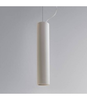 1 Light Large Ceiling Pendant White