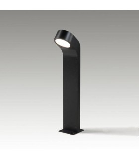 1 Light Outdoor Bollard Light Black IP65
