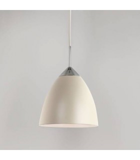 1 Light Large Dome Ceiling Pendant Cream