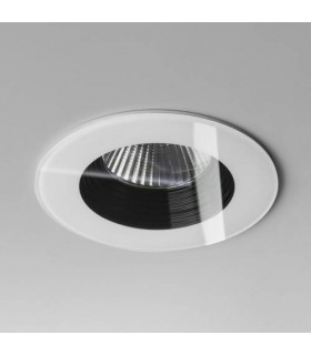 1 Light Round Recessed Downlight White - Fire Rate IP65