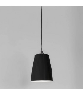 1 Light Large Ceiling Pendant Matt Black