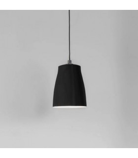 1 Light Small Ceiling Pendant Matt Black