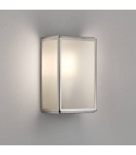 Homefield Polished Nickel Outdoor Sensor Wall Light