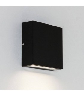LED 3 Light Outdoor Wall Light Black IP54