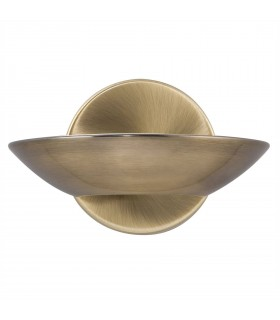 LED Indoor Wall Uplighters Antique Brass