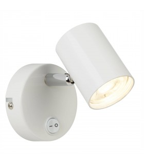 Integrated LED 1 Light Indoor Wall Light White