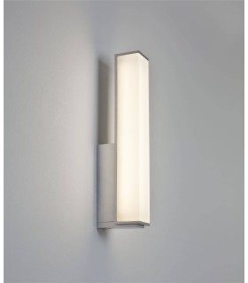 LED 1 Light Bathroom Wall Light Polished Chrome IP44