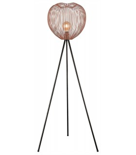1 Light Floor Lamp Copper, E27