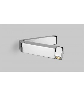 Swing Arm LED 1 Light Indoor Wall Light Polished Chrome