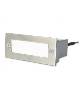 Forlight - Stair Stainless Steel LED Rectangular Outdoor Recessed Wall Fixture PX-0122-INO