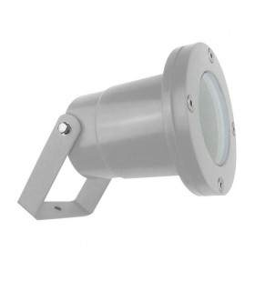 1 Light Outdoor Spotlight Grey IP65