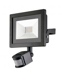 LED Flood Light Outdoor Spotlight Black IP44