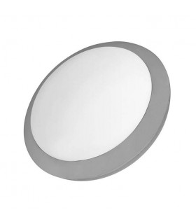 2 Light Outdoor Surface Mounted Lighting Grey IP65