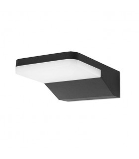 Black LED Outdoor Wall Fixture