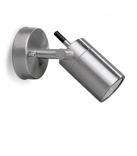 1 Light Outdoor Adjustable Wall Light Stainless Steel IP54