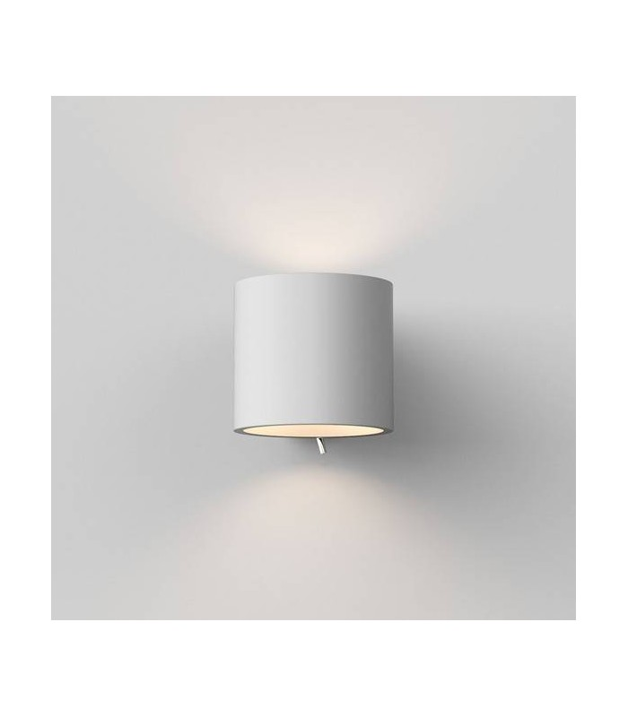 1 Light Indoor Wall Light Plaster, E14