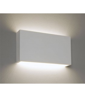 LED 1 Light Indoor Dimmable Wall Light Plaster