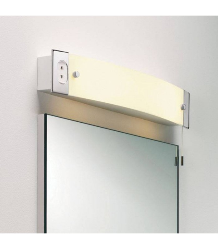 Interior Bathroom Wall Light with Shaver Socket Astro Lighting 0275
