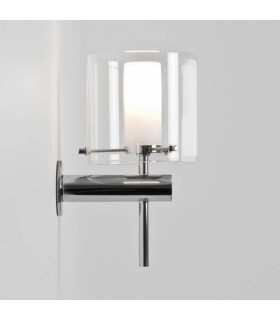 Chrome Bathroom Wall Light Dimmable Astro Lighting 0342