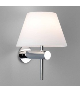 Dimmable 1 Light Bathroom Wall Light Polished Chrome, G9