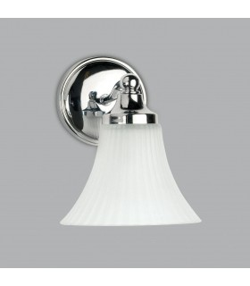 Chrome & Opal Bathroom Wall Downlight Astro Lighting 0506