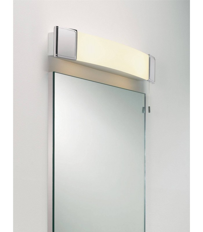 Illuminated Bathroom Mirror & Shaver Light Astro Lighting 0512