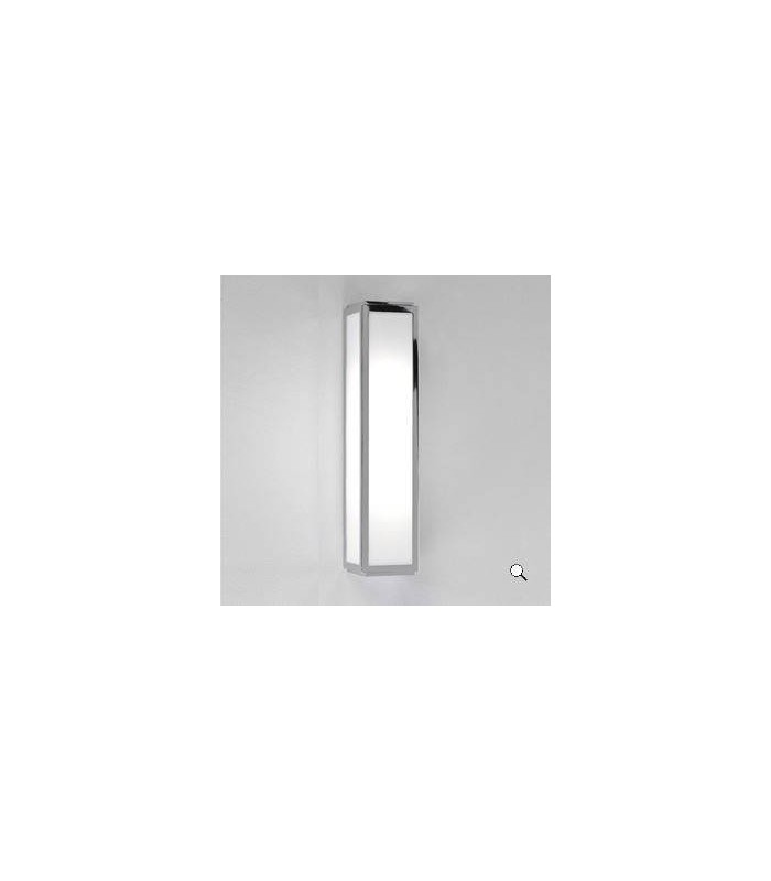 2 Light Bathroom Wall Light Polished Chrome IP44