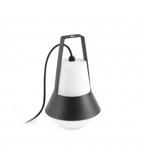 1 Light Outdoor Table Lamp White, Black IP54