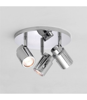 COMO TRIPLE ROUND IP44 BATHROOM SPOTLIGHT - ASTRO 6107