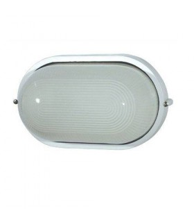 1 Light Outdoor Bulkheads Black IP44, E27