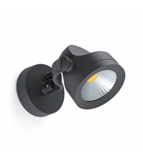 LED Outdoor Wall Spotlight Dark Grey IP65