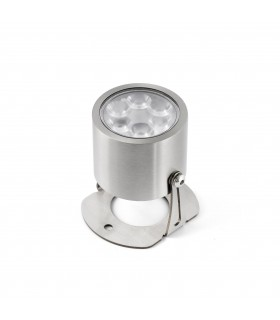 LED Outdoor Wall Spotlight Grey IP68